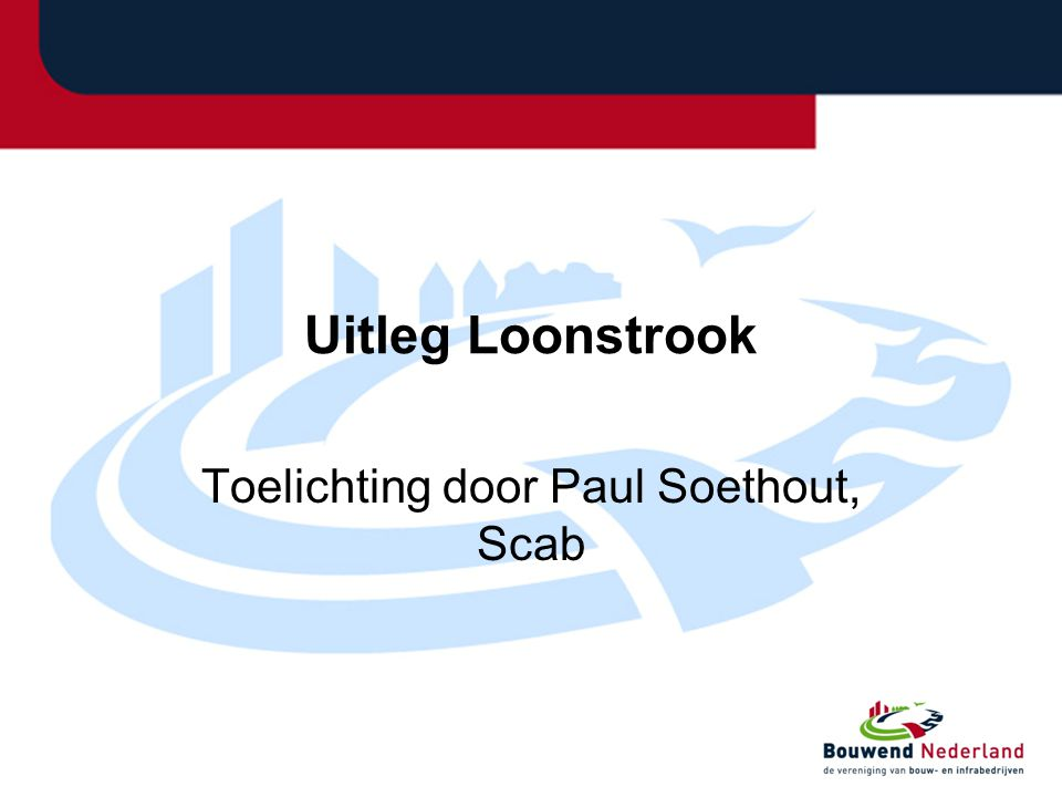 Toelichting door Paul Soethout, Scab