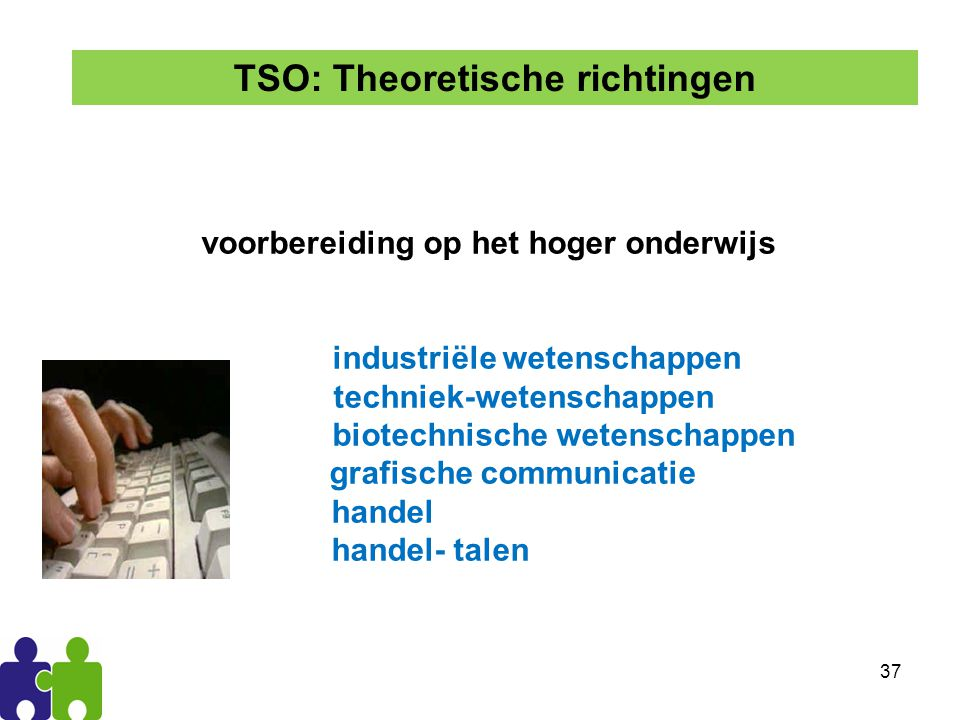 TSO: Theoretische richtingen