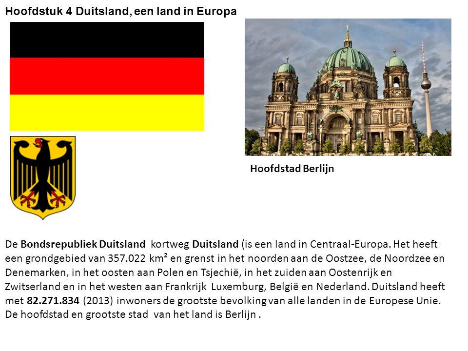 Hoofdstuk 4 Duitsland, een land in Europa