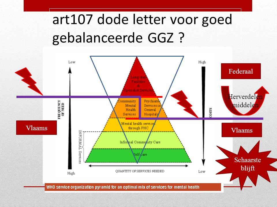 art107 dode letter voor goed gebalanceerde GGZ