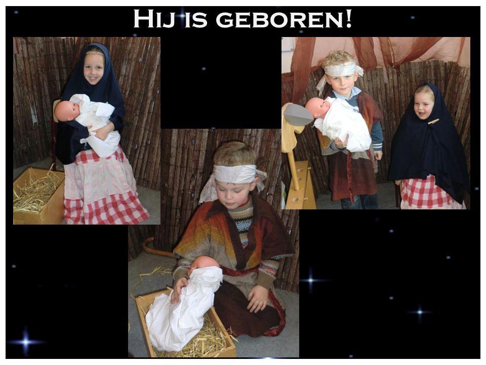 Hij is geboren!