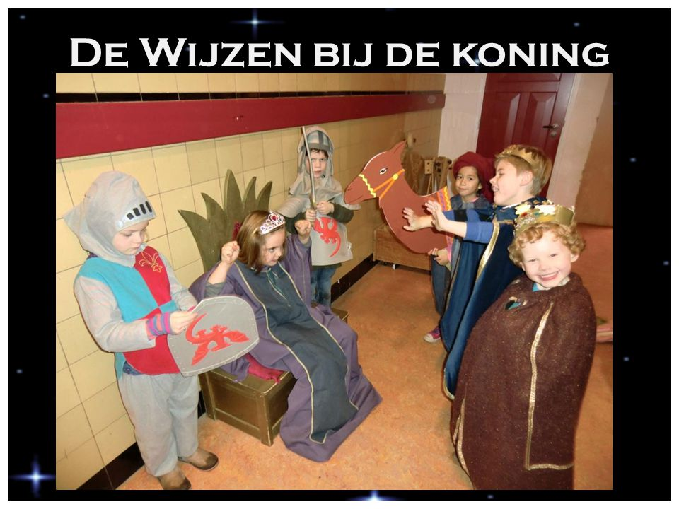 De Wijzen bij de koning