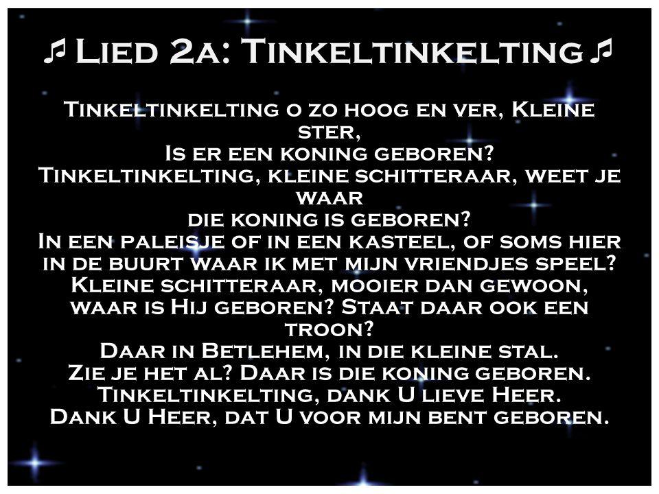 Lied 2a: Tinkeltinkelting