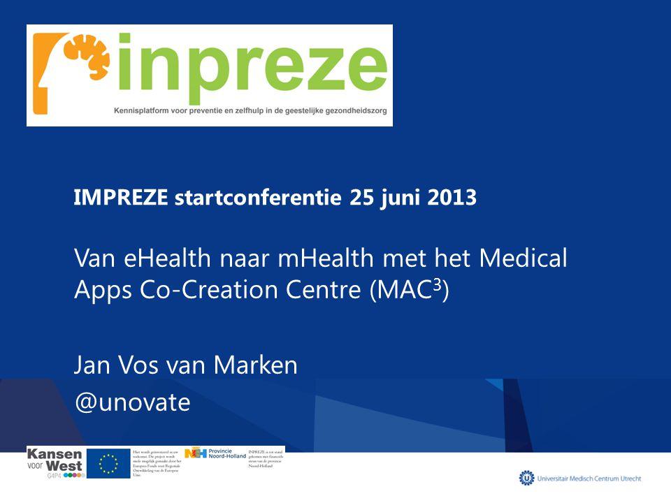 IMPREZE startconferentie 25 juni 2013