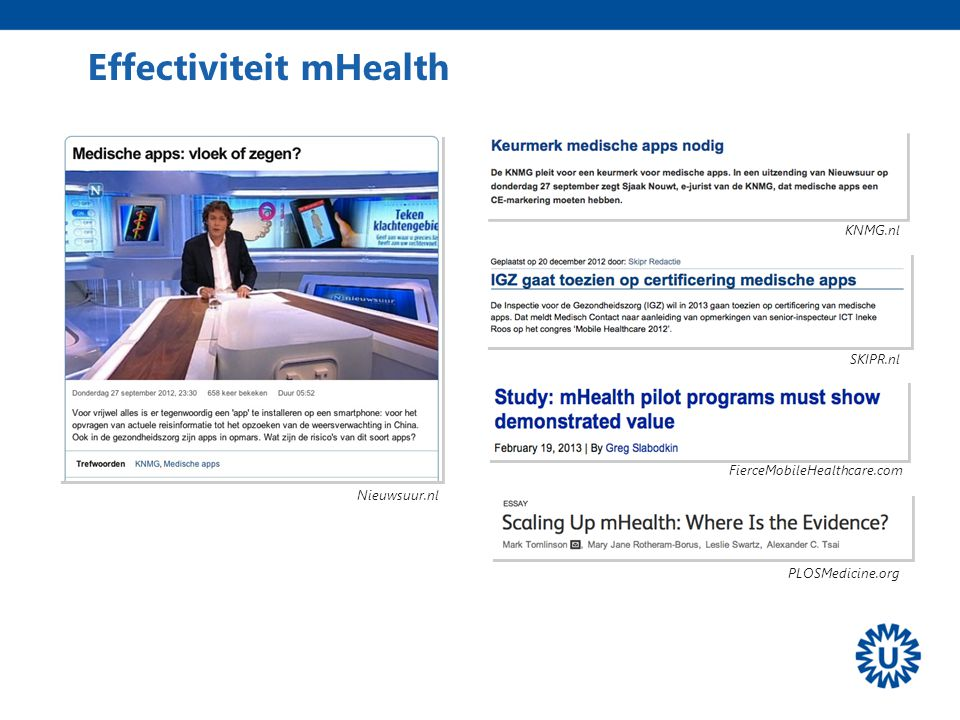 Effectiviteit mHealth