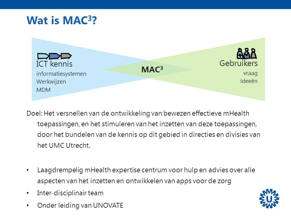 Wat is MAC3 ICT kennis Gebruikers MAC3