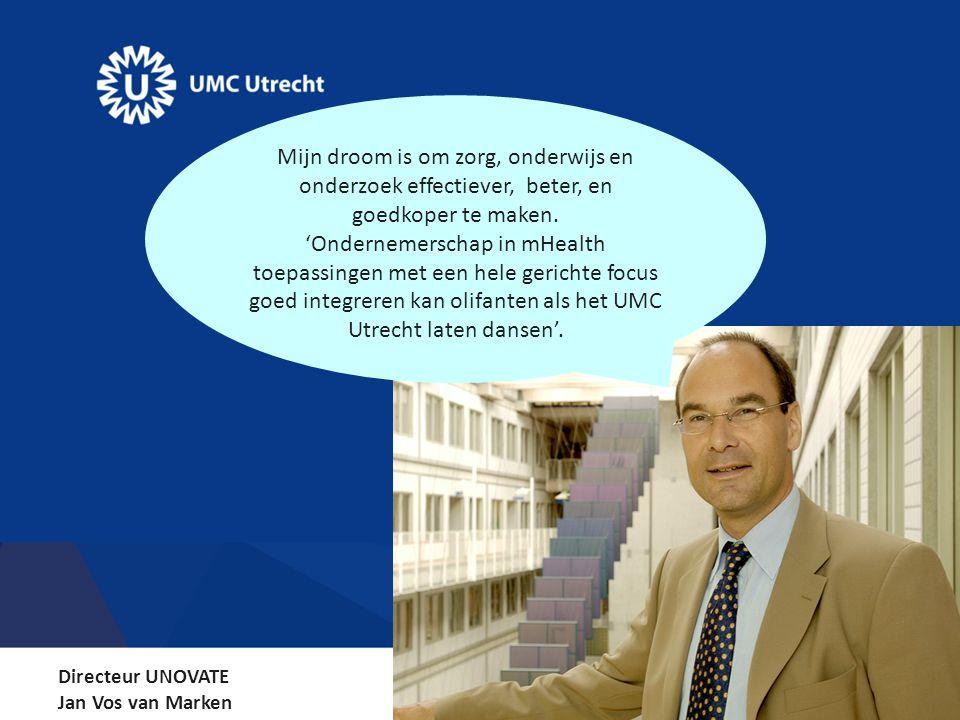 Mijn droom is om zorg, onderwijs en onderzoek effectiever, beter, en goedkoper te maken.