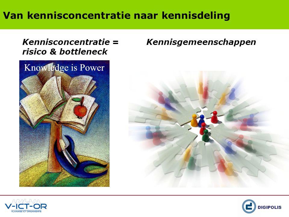 Van kennisconcentratie naar kennisdeling