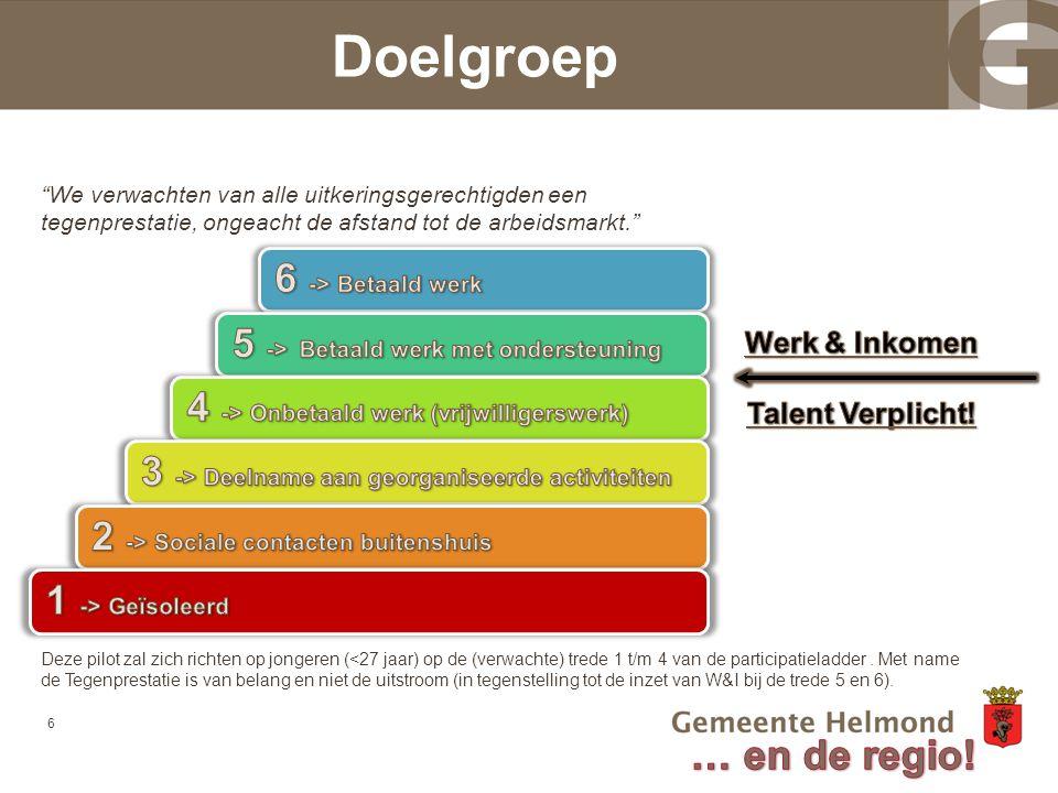Doelgroep 6 -> Betaald werk 5 -> Betaald werk met ondersteuning