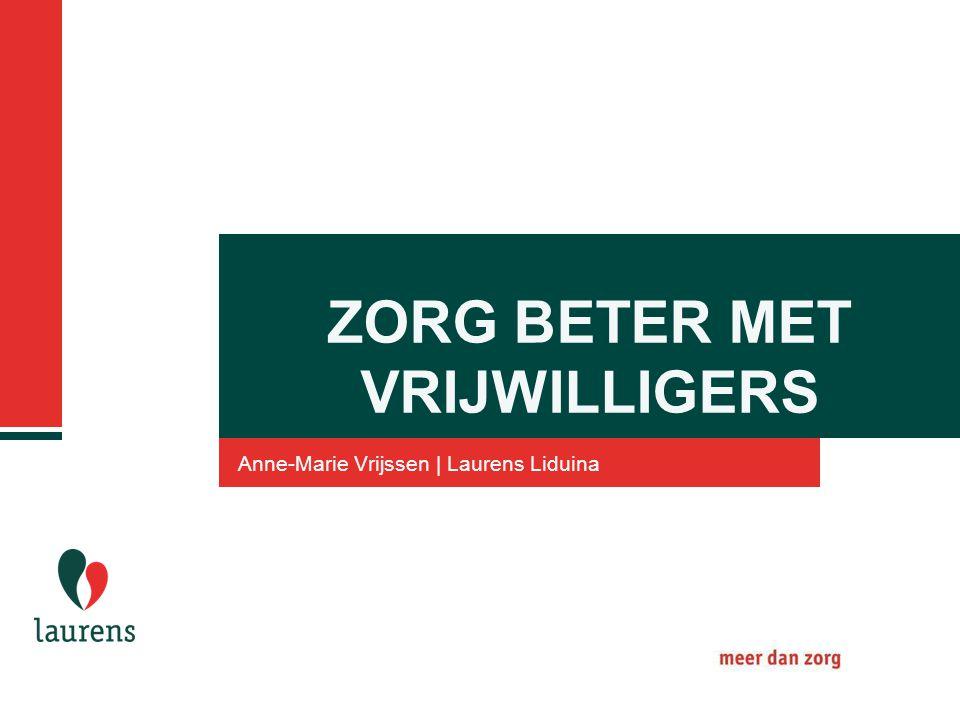 ZORG BETER MET VRIJWILLIGERS