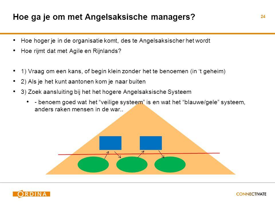 Hoe ga je om met Angelsaksische managers