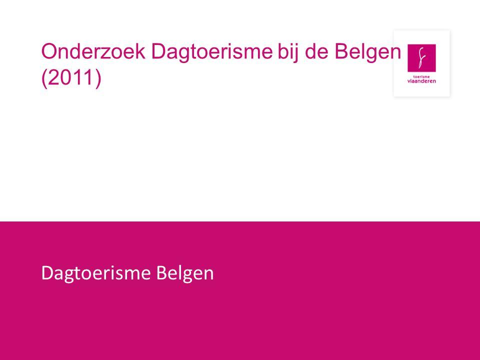 Onderzoek Dagtoerisme bij de Belgen (2011)