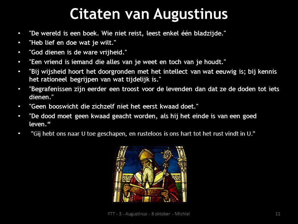 Citaten van Augustinus