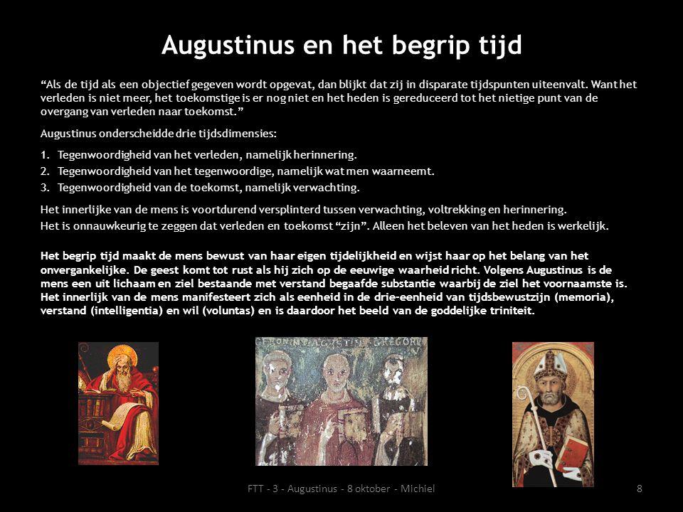 Augustinus en het begrip tijd