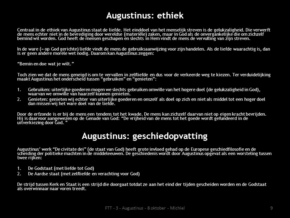 Augustinus: geschiedopvatting