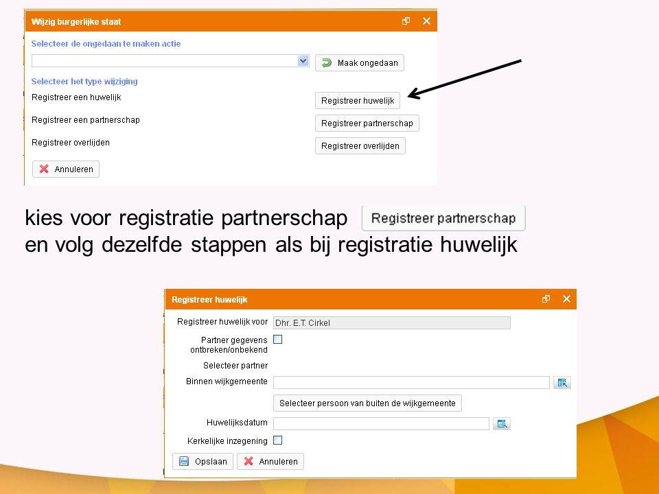 kies voor registratie partnerschap