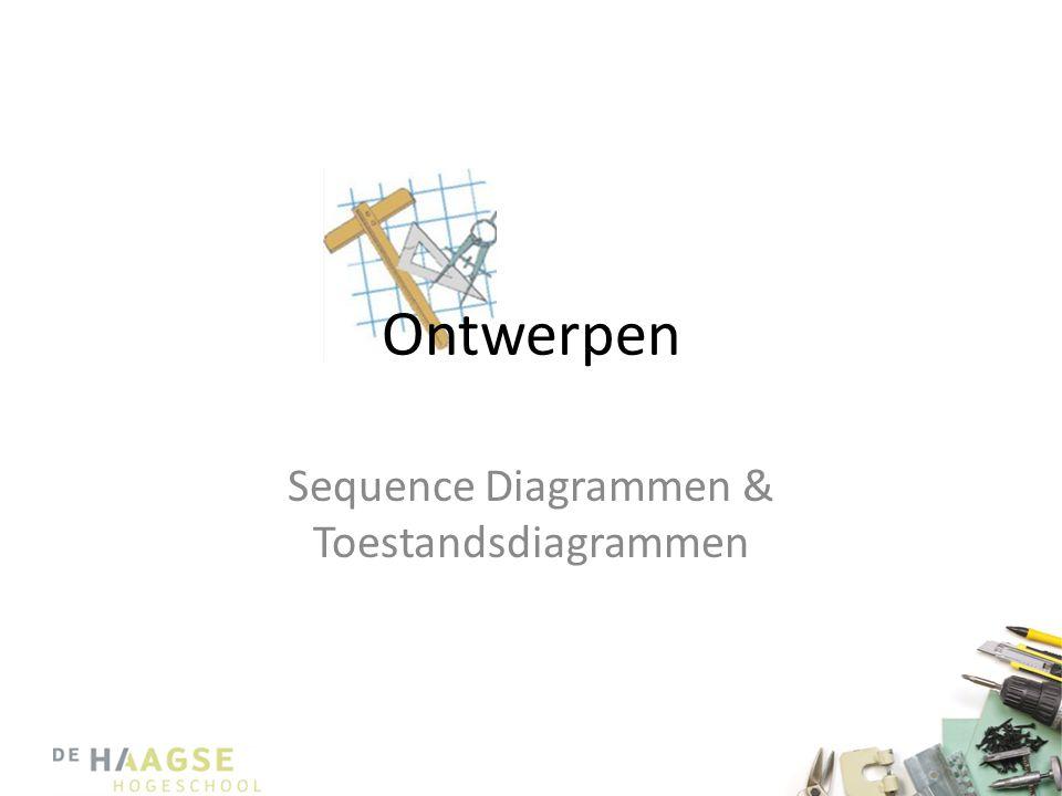 Sequence Diagrammen & Toestandsdiagrammen