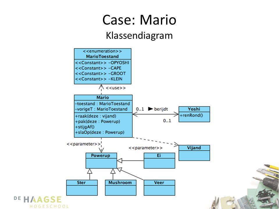 Case: Mario Klassendiagram