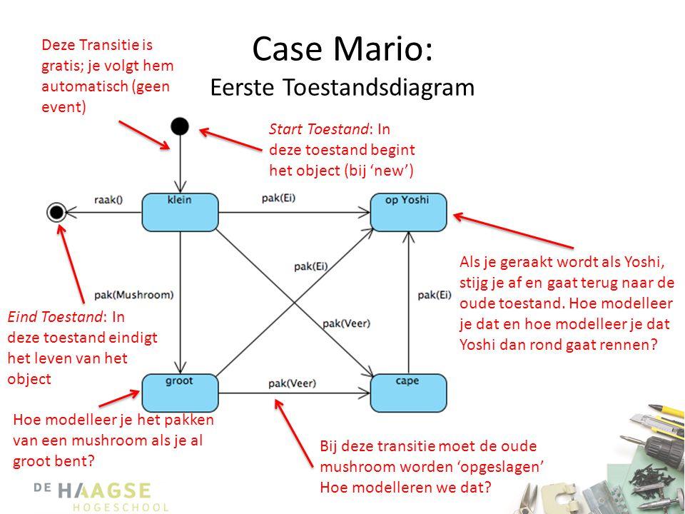 Case Mario: Eerste Toestandsdiagram