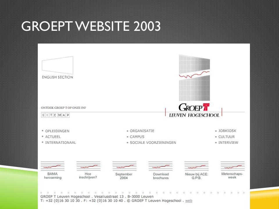 groept website 2003
