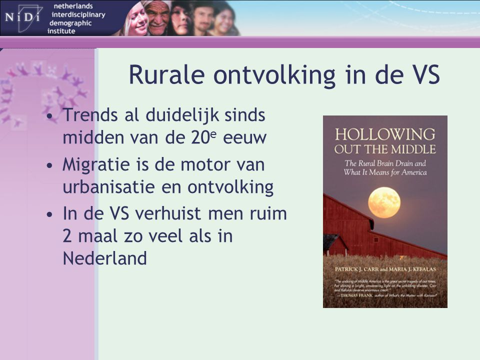Rurale ontvolking in de VS