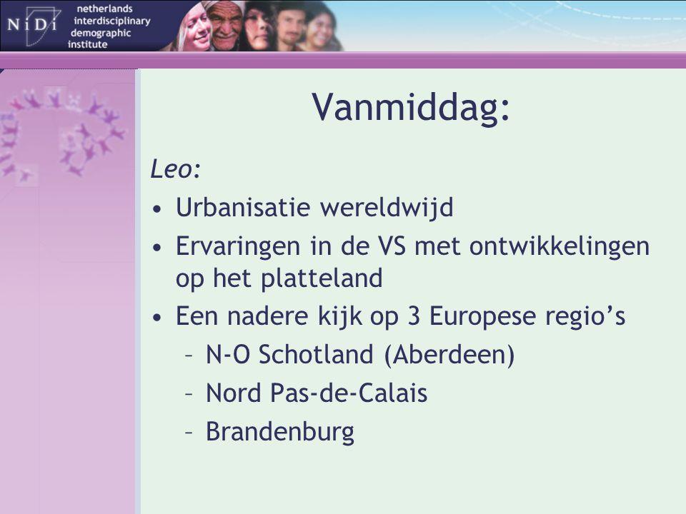 Vanmiddag: Leo: Urbanisatie wereldwijd