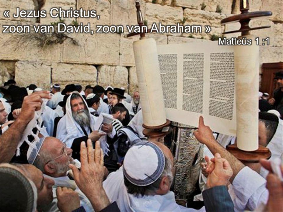 zoon van David, zoon van Abraham »