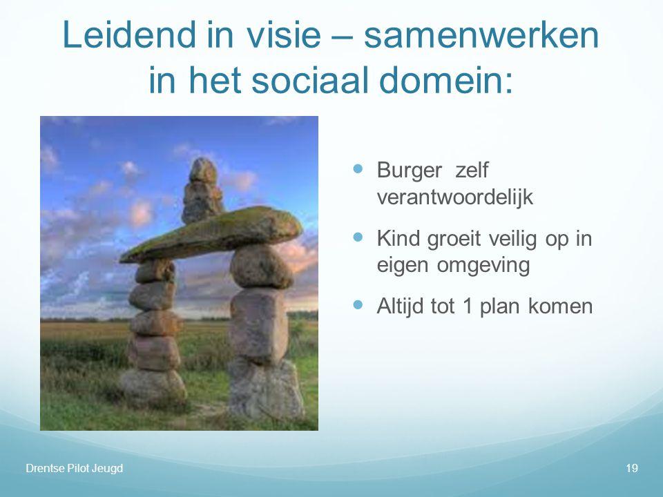 Leidend in visie – samenwerken in het sociaal domein: