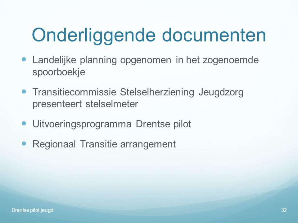 Onderliggende documenten