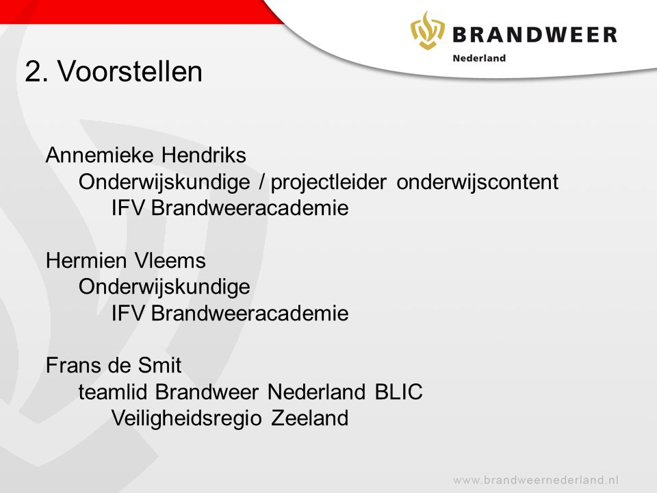 2. Voorstellen Annemieke Hendriks