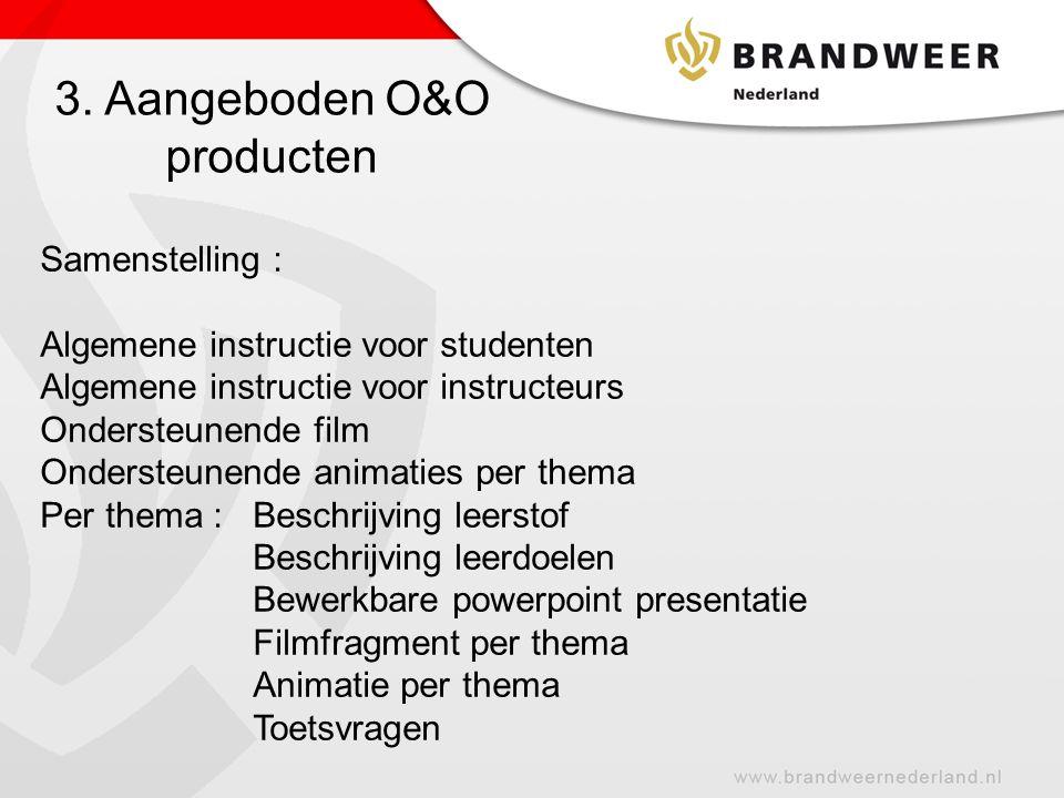 3. Aangeboden O&O producten
