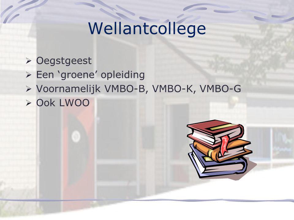 Wellantcollege Oegstgeest Een 'groene' opleiding