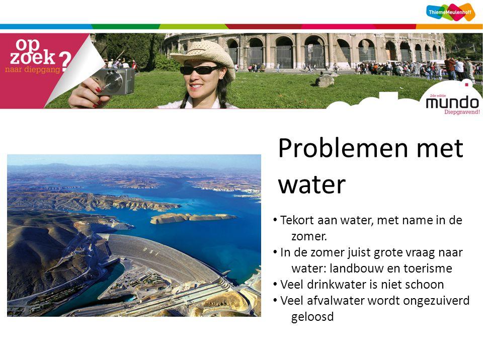 Problemen met water water