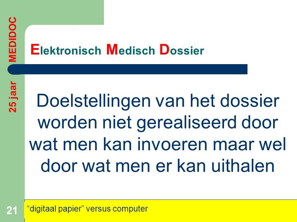 Elektronisch Medisch Dossier