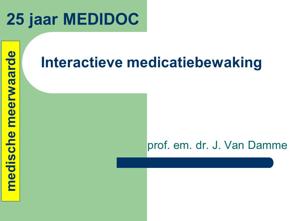 Interactieve medicatiebewaking