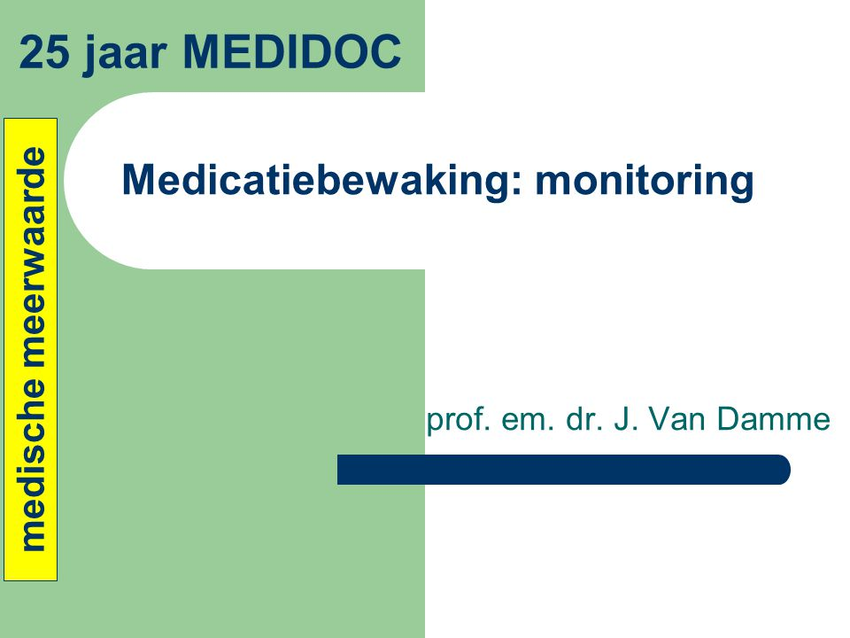 Medicatiebewaking: monitoring