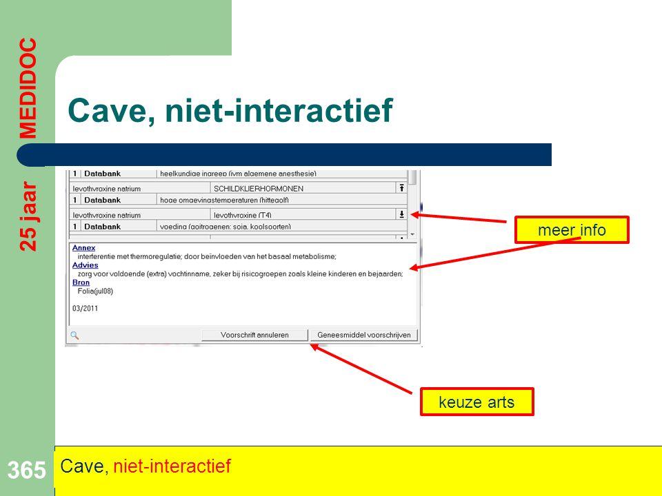 Cave, niet-interactief