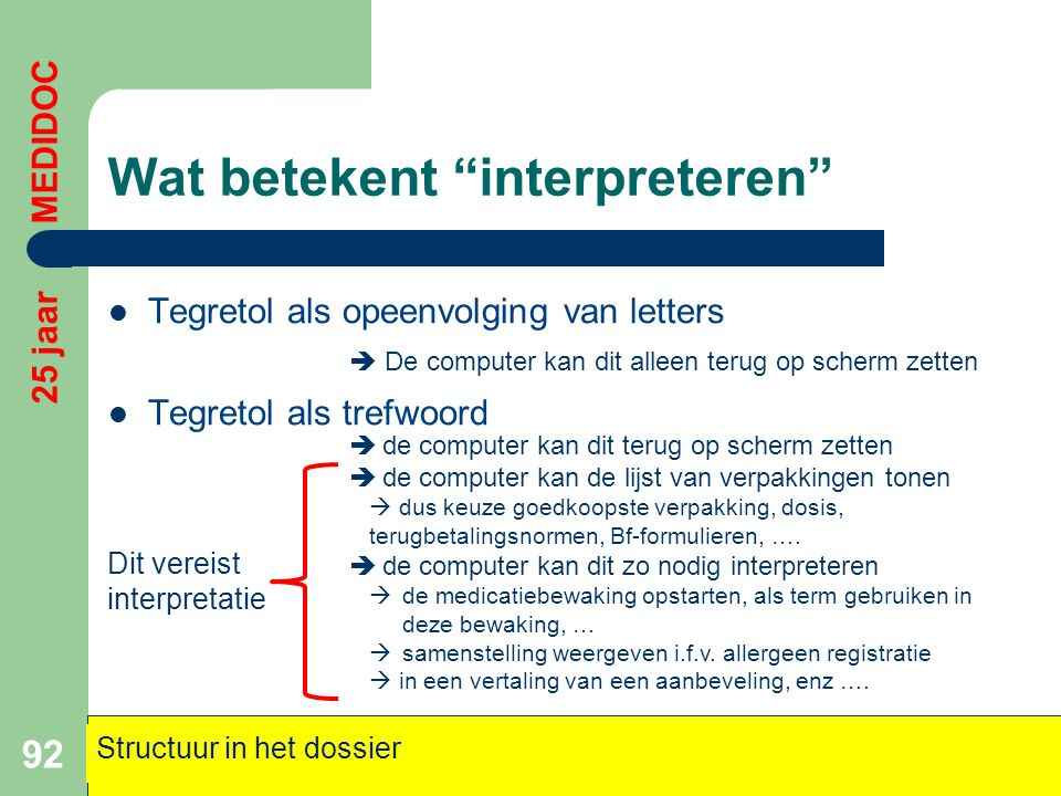 Wat betekent interpreteren