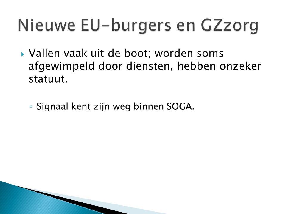 Nieuwe EU-burgers en GZzorg