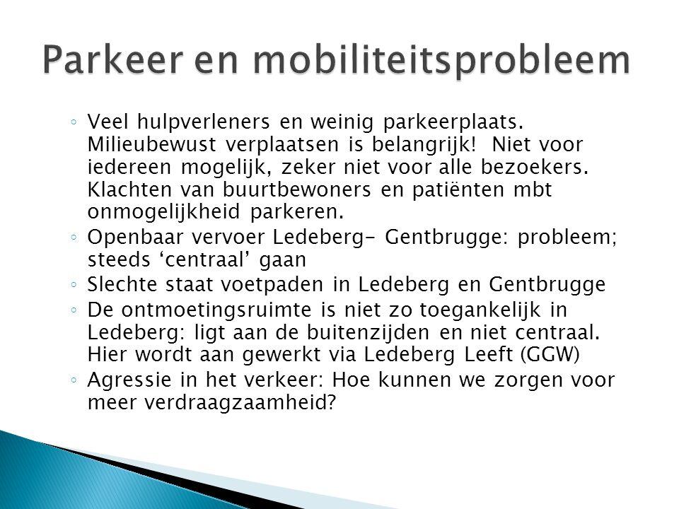 Parkeer en mobiliteitsprobleem