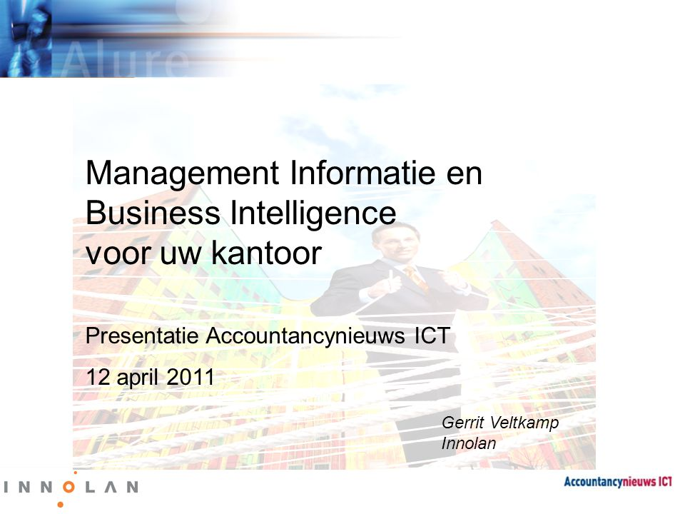 Management Informatie en Business Intelligence voor uw kantoor