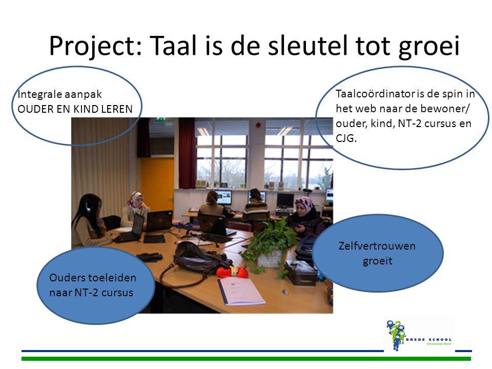 Project: Taal is de sleutel tot groei