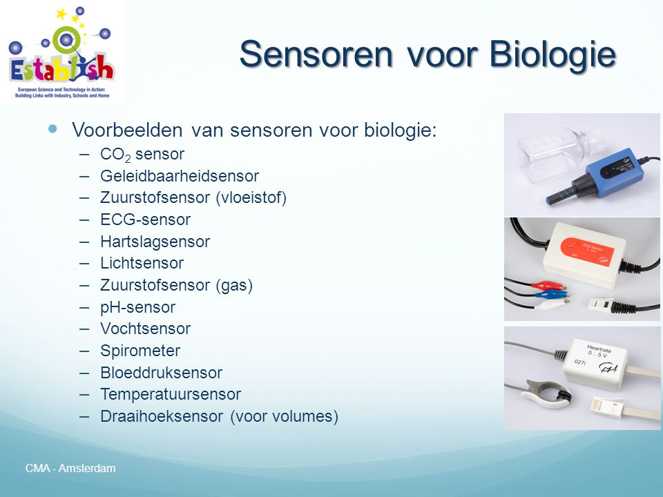 Sensoren voor Biologie