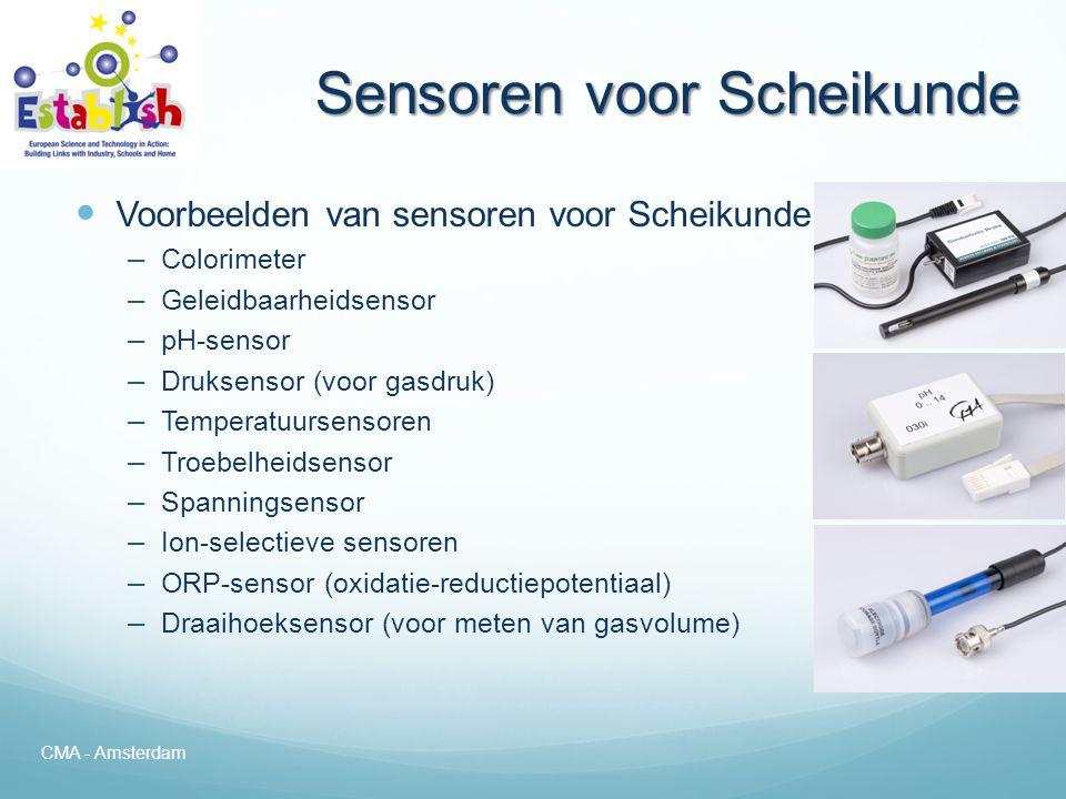 Sensoren voor Scheikunde