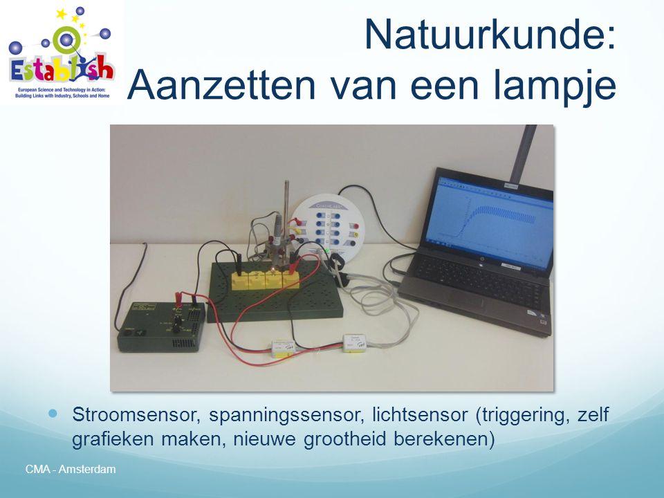 Natuurkunde: Aanzetten van een lampje