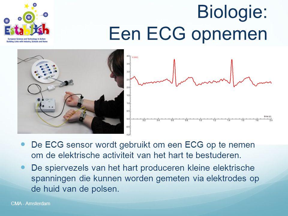 Biologie: Een ECG opnemen