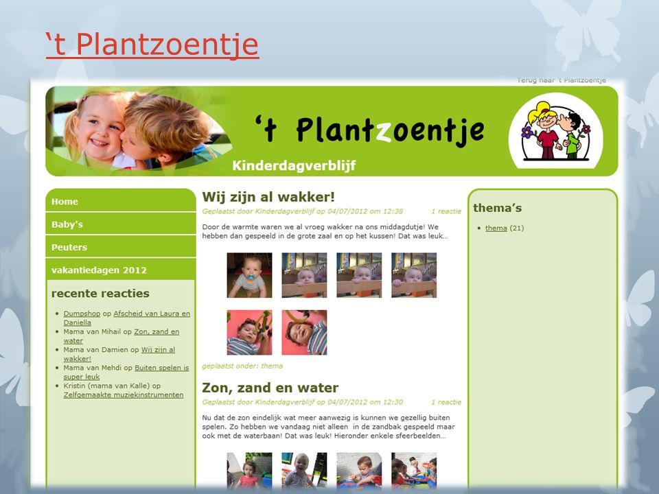 't Plantzoentje