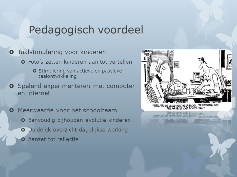 Pedagogisch voordeel Taalstimulering voor kinderen