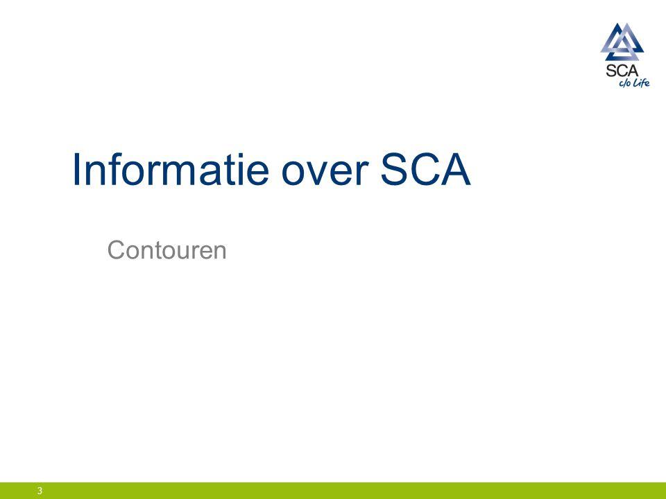 Informatie over SCA Contouren 3