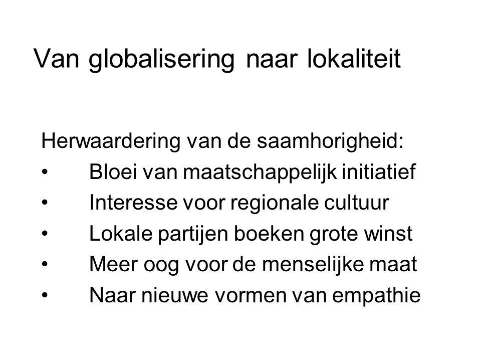 Van globalisering naar lokaliteit